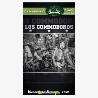 Los Commodoros en concierto en El Fiu Chiti - La Churre