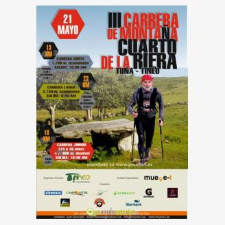 III Carrera de Montaña Cuarto de la Riera Tuña 2017