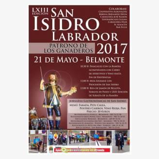 Fiesta de San Isidro 2017 en Belmonte de Miranda