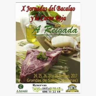 X Jornadas del Bacalao la Carne Roja en A Reigada 2017