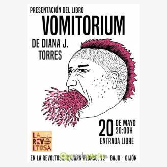 """Presentación del libro """"Vomitorium"""""""