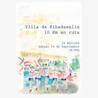 IX Edición 10 Km Villa De Ribadesella 2017