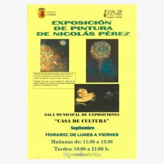 Exposición de Pintura de Nicolás Pérez