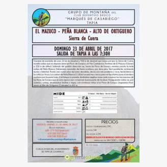Ruta con el Grupo de Montaña Marqués de Casariego a la Sierra de Cuera