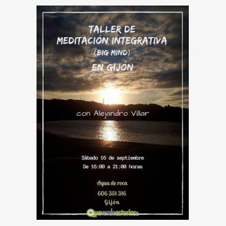 Taller de Meditación Integrativa (Big Mind) - Gijón