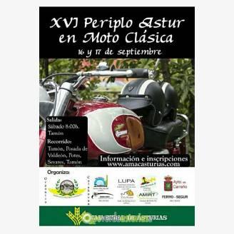 XVI Periplo Astur en Moto Clásica