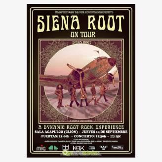 Concierto Siena Root - Gijón 2017