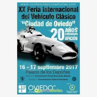 XX Feria Internacional del Vehículo Clásico Oviedo 2017