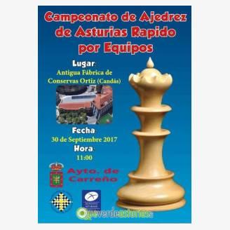 Campeonato de Ajedrez de Asturias Rápido por Equipos 2017