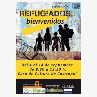Exposición: Refugiados, Bienvenidos