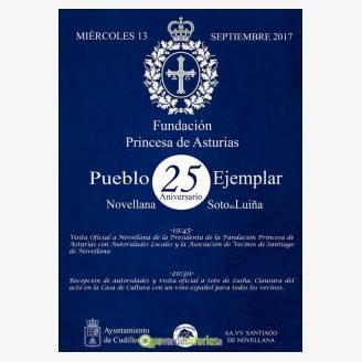 25º Aniversario Pueblo Ejemplar - Novellana 2017