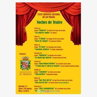 XXXIV Quincena Cultural de San Miguel - La Caridad 2017