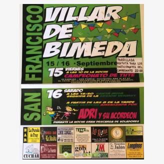 Fiestas de San Francisco - Villar de Bimeda 2017