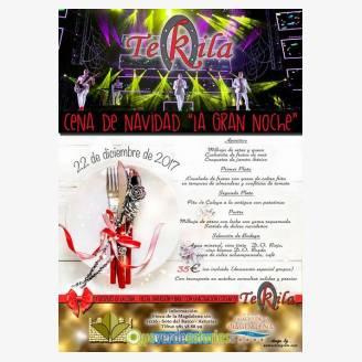 """Cena de Navidad 2017 """"La Gran Noche"""" en Hotel Palacio de La Magdalena"""