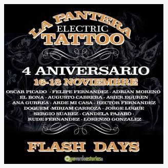 4º Aniversario de La Pantera Tattoo Shop 2017