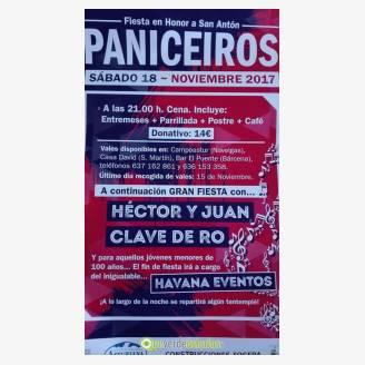 Fiestas de San Antón Paniceiros 2017