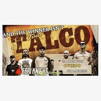 Talco + Ebri Knight en concierto en Oviedo