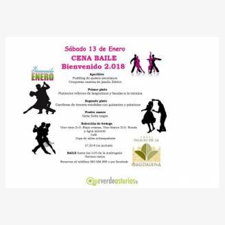 Cena baile Bienvenido 2018