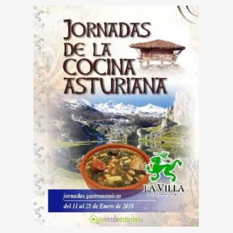 Jornadas de la Cocina Asturiana en La Villa Sidrería 2018