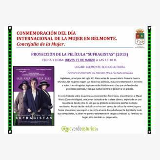 Conmemoración del Día Internacional de las Mujeres 2018 en Belmonte