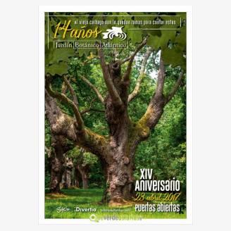 14 Aniversario del Jardín Botánico Atlántico de Gijón