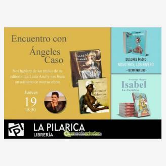 Encuentro literario con Ángeles Caso