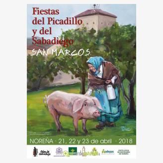 Fiesta del Picadillo y el Sabadiego - San Marcos 2018 en Noreña
