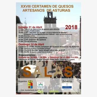 XXVIII Certamen de Quesos Artesanos de Asturias 2018 en Salas