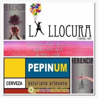 """Presentación del libro """"Herencia"""", de Ana Vega"""