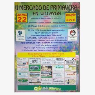 II Mercado de Primavera 2018 en Villayón