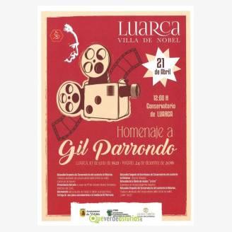 Homenaje a Gil Parrondo en Luarca