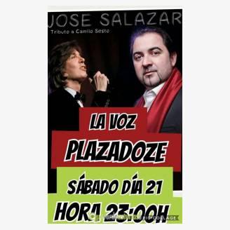 Jorge Salazar en concierto en Plaza Doze