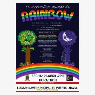 Musical infantil: El maravilloso mundo de Rainbow