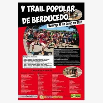 V Trail Popular de Berducedo 2018