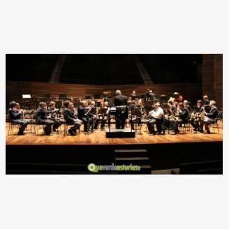 Concierto en Lugones de la Banda de Música de A.S.A.M.