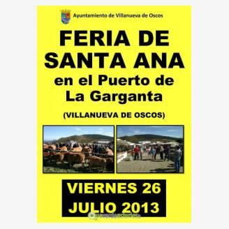 Feria de Santa Ana La Garganta