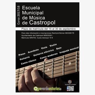 Escuela Municipal de Música de Castropol - Curso 2017/18