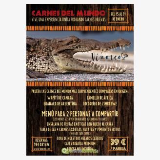 Jornadas Gastronómicas de las Carnes del Mundo en Vinoteo