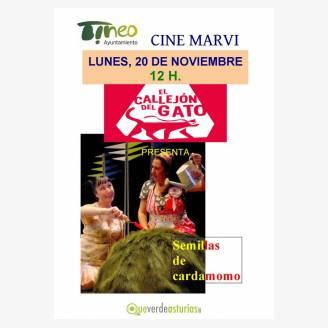 """Teatro en Cine Marvi: """"Semillas de Cardamomo"""""""