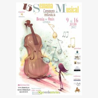 Campamento de Verano – 15 Semana Musical en Benia de Onís 2017