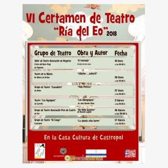 VI Certamen de Teatro Ría del Eo 2018