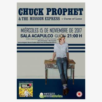 Chuck Prophet en Sala Acapulco Gijón