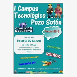 I Campus Tecnológico Pozo Sotón 2017
