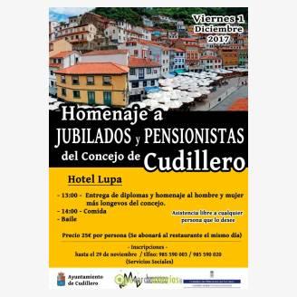 Homenaje a jubilados y pensionistas del concejo de Cudillero