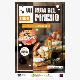 VII Ruta del Pincho Tineo 2017