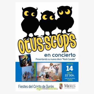 Concierto de Otus Scops - Fiestas del Cristo de la Paz Turón 2017