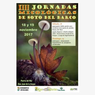 XIII Jornadas Micológicas de Soto del Barco 2017