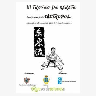 III Trofeo de Kárate 2018 en Castropol