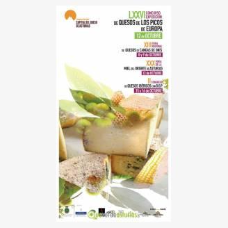 LXXVI Concurso Exposición de Quesos de los Picos de Europa 2017 - XXX Feria de la Miel del Oriente