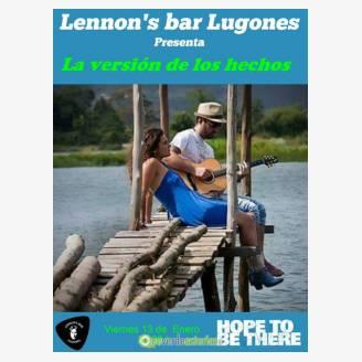 La Versión de los Hechos en concierto en Lennon's Bar Lugones
